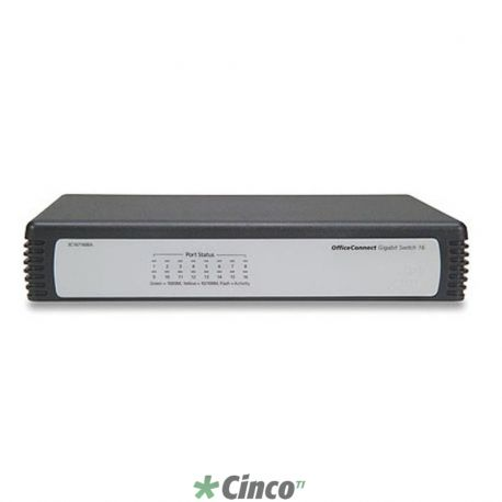 Switch OfficeConnect Gigabit - 16x 10/100/1000 Mbps (110V)