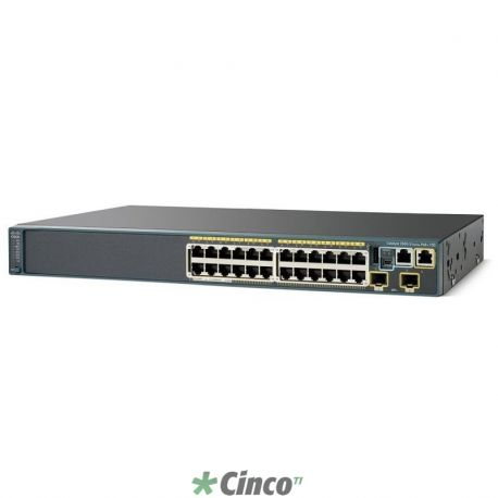 Cisco Catalyst 2960S-24TD-L - Switch - managed - 24 x 10/100/1000 + 2 x SFP+ - rack-mountable
