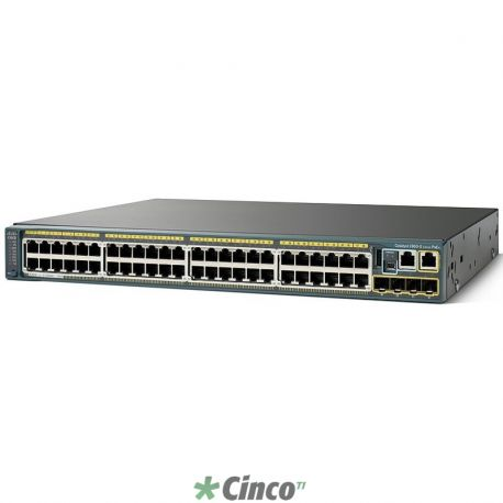 Catalyst 2960S 48 GigE PoE 740W, 4 x SFP LAN Base