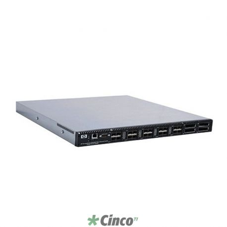HP SN6000 Stackable 8Gb 24-port Single Power Fibre Channel Switch