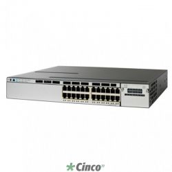 Cisco Catalyst WS-C3850-24P-S Camada 3 Switch