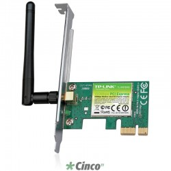 Adaptador TP-LINK PCI Express Wireless N150Mbps TL-WN781ND