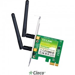 Adaptador TP-LINK PCI Express Wireless N 300Mbps TL-WN881ND