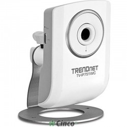 TRENDnet Câmera Vídeo IP Wireless N Cloud Câmera TV-IP751WC
