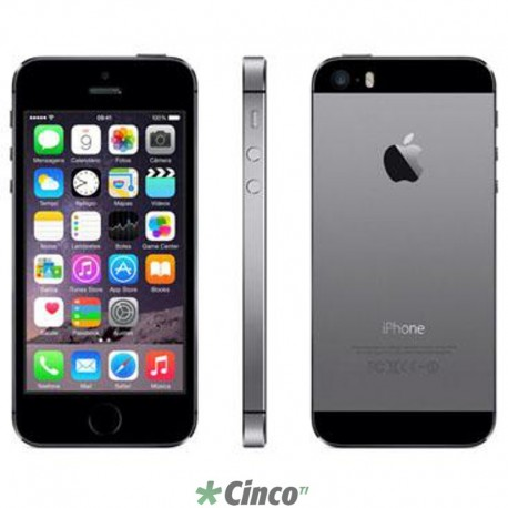 Iphone 5S Space Gray Apple 16GB ME432BR/A