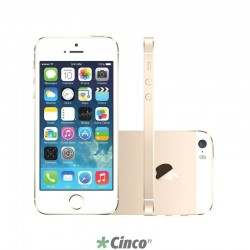 Iphone 5S Ouro 16GB Apple ME434BR/A