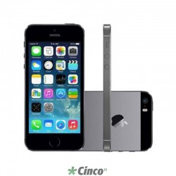 Iphone 5S Cinza Espacial Apple 32GB ME435BR/A