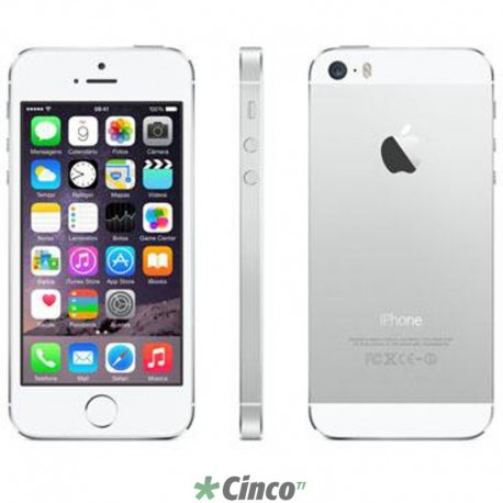 Iphone 5S Prata 32GB Apple ME436BR/A