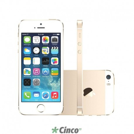 Iphone 5S Ouro 32GB Apple ME437BR/A