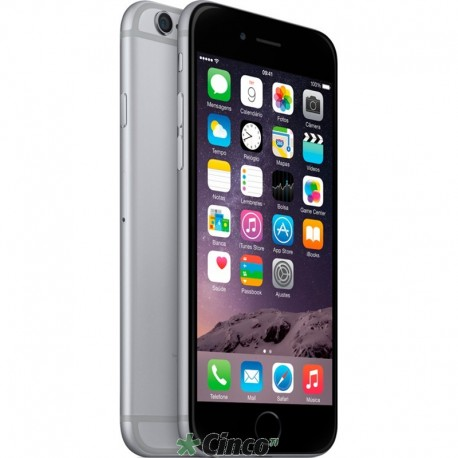 Iphone 6 Cinza Espacial Apple 128GB MG3E2BR/A