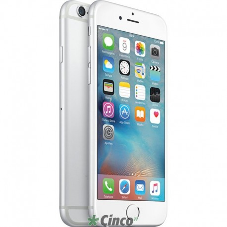 Iphone 6 Plus Prata 16gb Apple Mg9n2bz A Cinco Ti