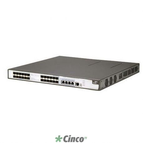 Switch 3Com 5500G-EI PWR - 24x 10/100/1000 Mbps (POE) + 4x mini-GBIC (versao Enhanced)