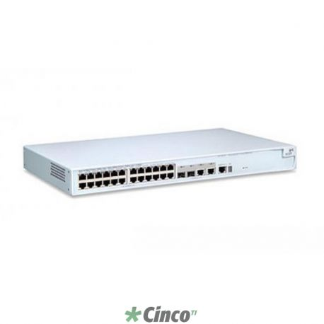 Switch 4500 - 24x 10/100 Mbps + 2x 10/100/1000 Mbps + 2x mini-GBIC