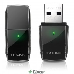 Adaptador TP-LINK USB Wireless Dual Band AC600 Archer T2U