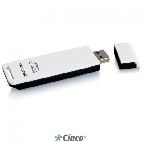 Adaptador TP-LINK USB Wireless N 300Mbps TL-WN821N