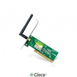 Adaptador TP-LINK PCI Wireless N de 150Mbps TL-WN751ND