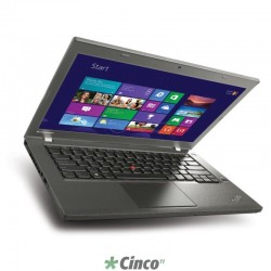 UltraBook Lenovo Think T440s Intel Core i5-4200U 1.6GHz, Tela 14 , 8GB RAM, 128GB SSD HD, Wi-Fi, Win 8.1 Pro 20ARA21XBR