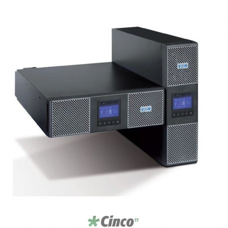 No-Break Powerware Eaton 9PX 6kVA 230V Dupla Conversão Rack 6U/Torre
