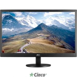 Monitor AOC LED 21,5 polegadas Widescreen