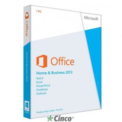 Microsoft Office 2013 Home and Business 32/64 Bits T5D-01674