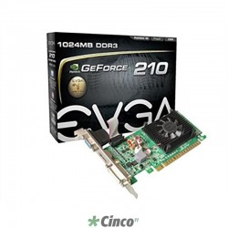 Placa de vídeo Geforce EVGA 210 01G-P3-1312-LR