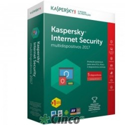 Kaspersky Internet Security - Multidispositivos 2017 - KL1941KBKFS