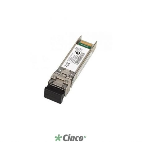 Conversor de mídia Mini-Gbic Cisco 10Gb BASE-LRM SFP+