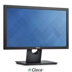 MONITOR DELL E1916H 18.5. CABO DP (P/ OPTIPLEX) - 3 ANOS