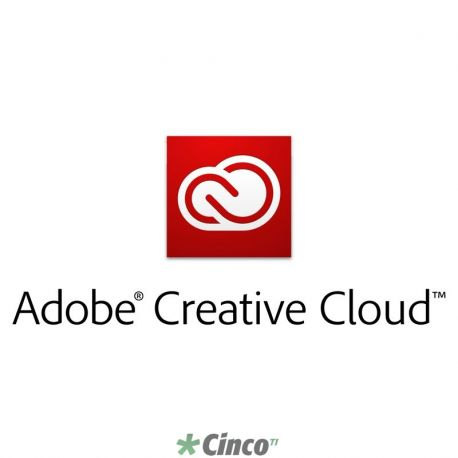 Licença anual TLP Adobe Creative Cloud for Teams Subscription