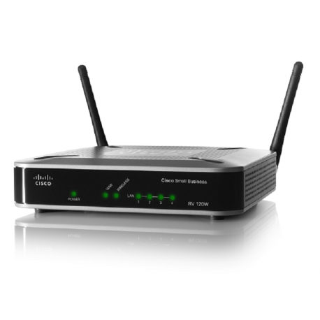 Cisco Small Business Wireless-N VPN Firewall 1000 Simultaneous Sessions 95 Mbps