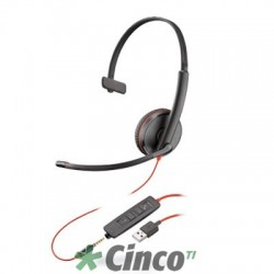 Headset Poly Série Blackwire 3200