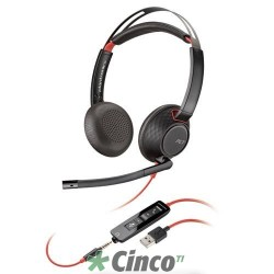 Headset Poly Série Blackwire 5200