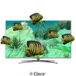 "Televisão 46"" LED Samsung D7000 Full HD 3D Smart TV un46d7000lgxzd"