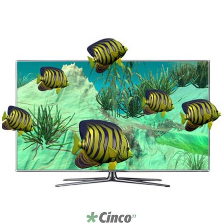 "Televisão 46"" LED Samsung D7000 Full HD 3D Smart TV"