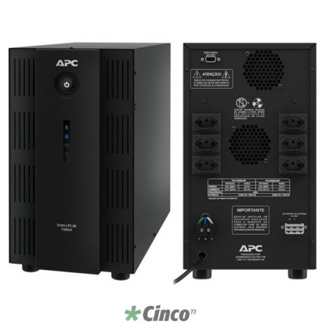 No-Break APC S1500VA, 700W, 115V/120V, USB/Serial