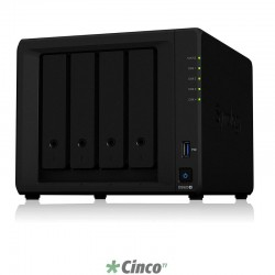 Synology DiskStation NAS com 4 baias hot-swappable DS920+