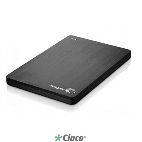 Seagate Backup Plus Slim 500GB USB 3.0 Portable Hard Drive Black