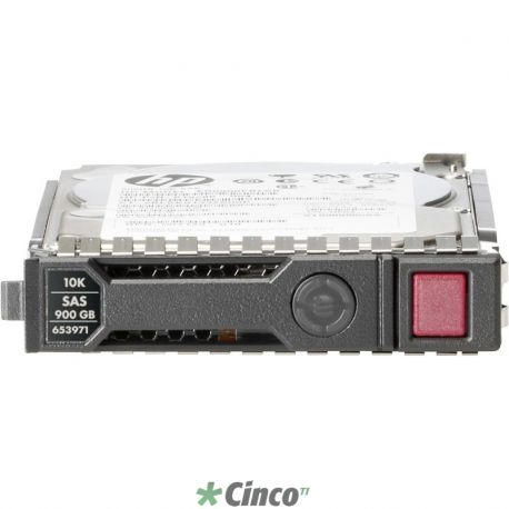 Disco Rígido Interno HP 450GB 6G SAS 15K LFF