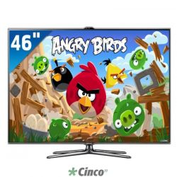 "46"" ES8000 Smart Interaction Full HD 3D LED TV UN46ES7000GXZD"