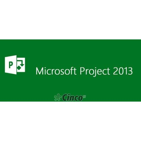 Microsoft Project Standard 2013 - license