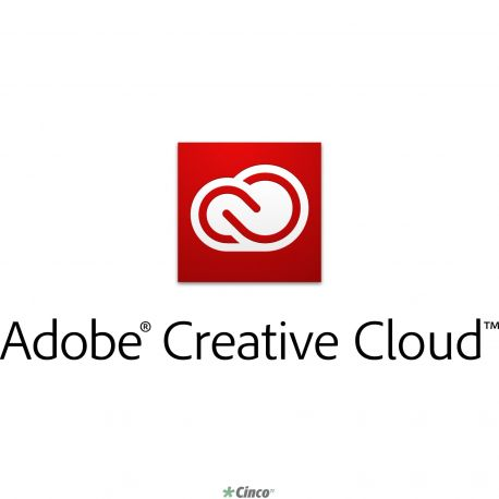 Licença anual TLP Adobe Creative Cloud for Teams