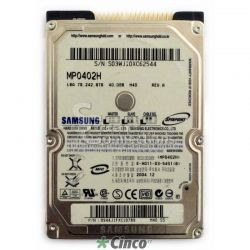 Samsung Spinpoint M Series 40GB 5400 RPM MP0402H