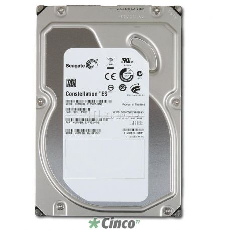 Disco Rígido Seagate Constellation 500GB, 7200rpm
