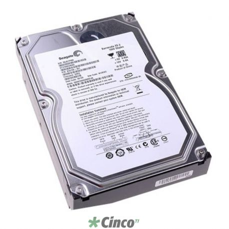 Disco Rígido Seagate Barracuda 500GB, 7200rpm