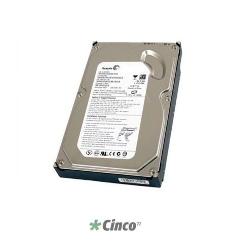 Disco Rígido Seagate Barracuda, 500GB, SAS