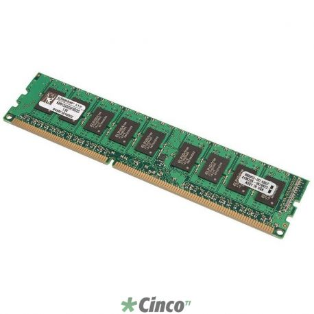 Memória Kingston 8GB 2Rx8 1G x 72-Bit PC3-10600