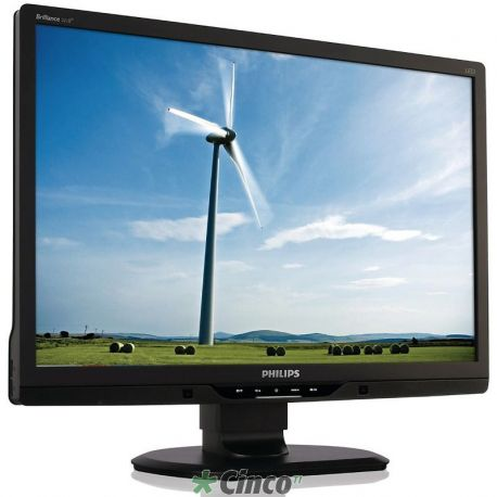 "Monitor 21,5"" LED Philips Brilliance 1920x1080 Full HD DVI USB [x2] Ajuste de altura PowerSensor"