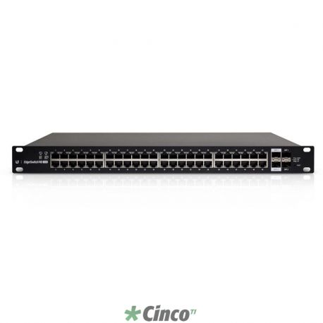 EdgeSwitch Ubiquiti 48 Portas PoE Switch 500W