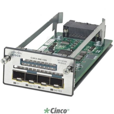Conversor de mídia Cisco Catalyst 3K-X 10G