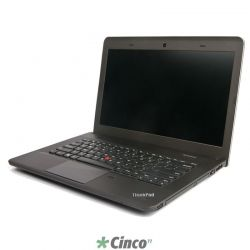 "Notebook Lenovo E431, Intel Core i3, HD 500GB, 4GB RAM, 14"" LED, 62772F1"